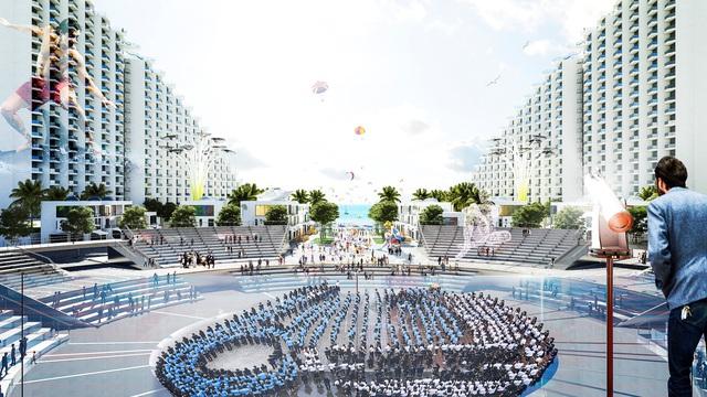 Dự án Condotel tiếp theo của Vịnh Nha Trang kết hợp giải trí lễ hội và nghỉ dưỡng mang tính cộng đồng đầu tiên tại Bãi Dài Cam Ranh.