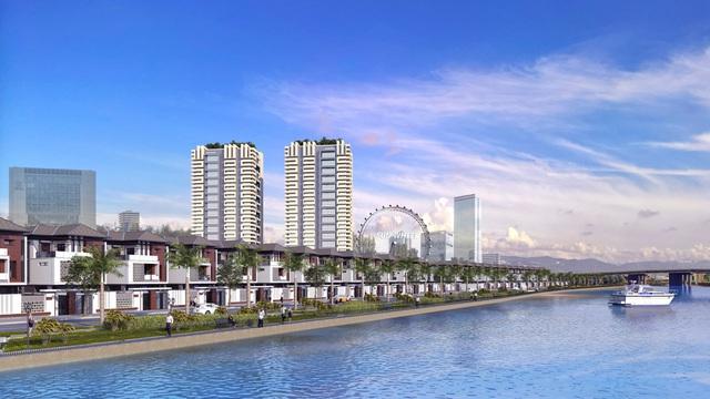 Ảnh phối cảnh dự án Elysia Complex City.