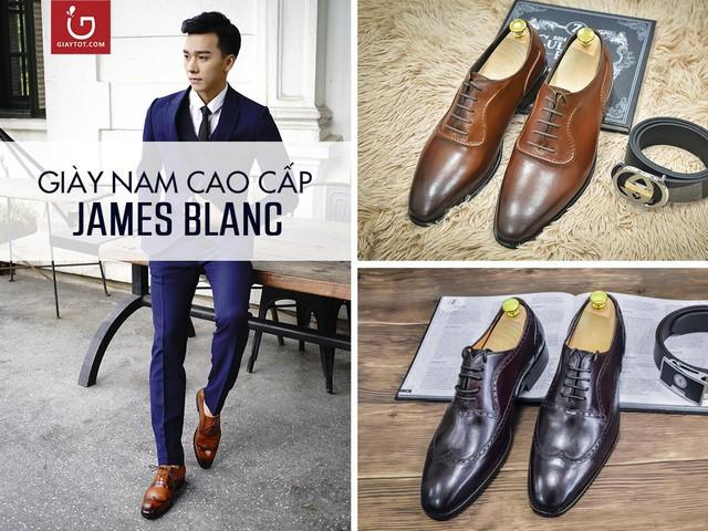 Thương hiệu giày nam James Blanc đẳng cấp và tinh tế.