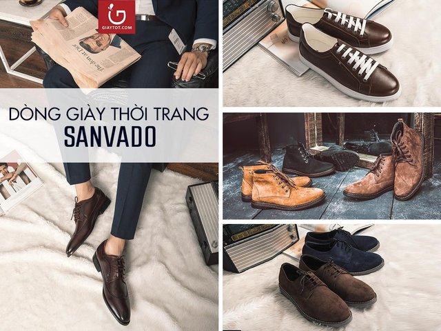 Dòng giày thời trang Sanvado được ưa chuộng bởi mức giá hợp lý và thiết kế hiện đại.