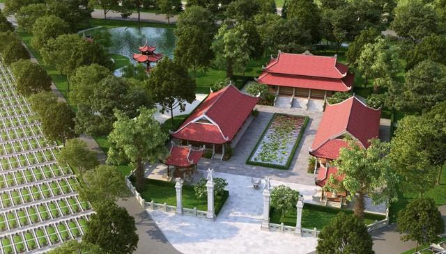 Các khu vực trong hoa viên nghĩa trang Sala Garden được quy hoạch rất bài bản, hiện đại.