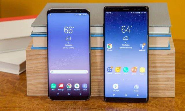 Galaxy S8 và Galaxy Note 8 chính là những quân bài chủ lực của Samsung trong năm 2017.