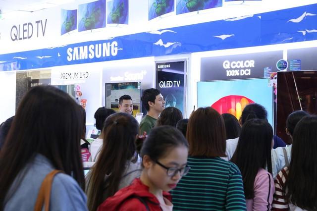 Thương hiệu của Samsung đã được khẳng định và ghi dấu ấn trên thị trường trong suốt thời gian dài.