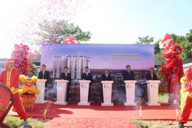 LDG Group khởi công dự án Khu căn hộ thông minh High Intela ngay mặt tiền đại lộ Võ Văn Kiệt.