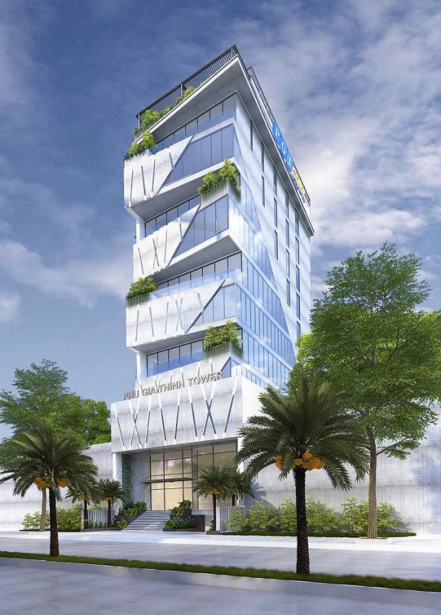 Phối cảnh tòa nhà Phu Gia Thinh Tower.