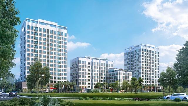 Valencia Garden – Dự án đang hoàn thiện và chuẩn bị bàn giao tại Long Biên.
