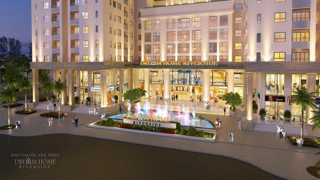 Khu thương mại Diamond Center Mall sang trọng, đẳng cấp là nơi tự hào cho mỗi cư dân sở hữu căn hộ.