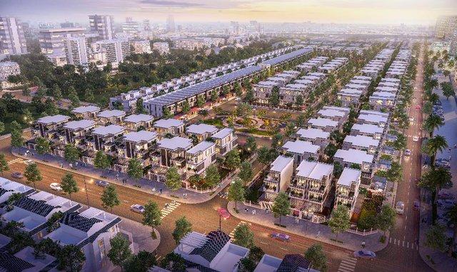 Dự án Đông Tăng Long Hưng Lộc được quy hoạch bài bản.