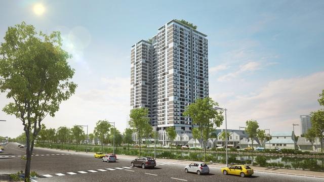 Riverside Garden là dự án có thiết kế rộng thoáng tối ưu và mức giá hợp lí.