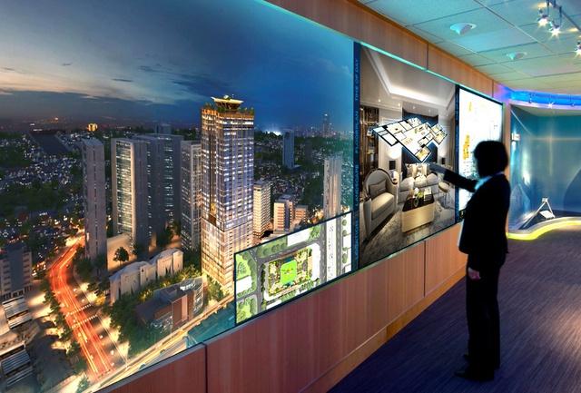 Với công nghệ tương tác ảo 3D Interactive, khách hàng của Sunshine Group có thể trực tiếp thay đổi nội thất, màu sơn cũng như điều chỉnh ánh sáng trong căn hộ.
