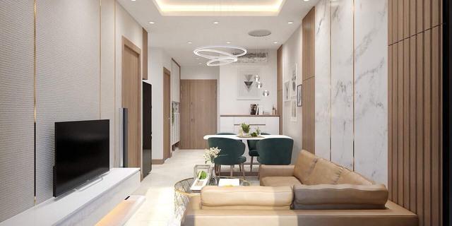 Thiết kế căn hộ mẫu dự án Sunshine Avenue.