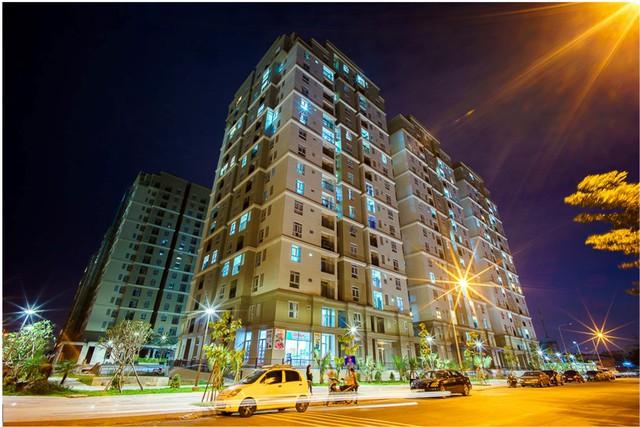 Khu căn hộ The Art, 1 dự án tại phía Đông TP.HCM, khu vực dẫn đầu mức tăng giá năm 2017 nhờ hạ tầng giao thông phát triển.