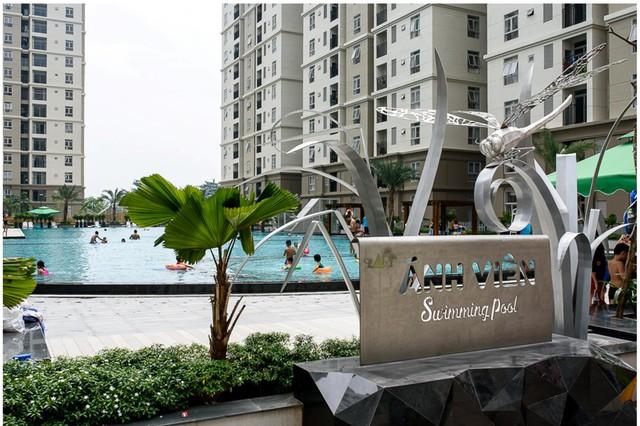 Hồ bơi được đặt theo tên VĐV bơi lội Ánh Viên, cho đến nay được cho là hồ bơi rộng nhất khu Đông TP.HCM với chiều dài lên đến 70 m.