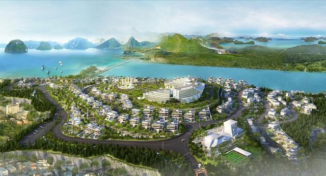 Monaco Halong Luxurious Villas được giới chuyên gia đánh giá cao về tính thanh khoản, cũng như độ hoành tráng về quy mô.