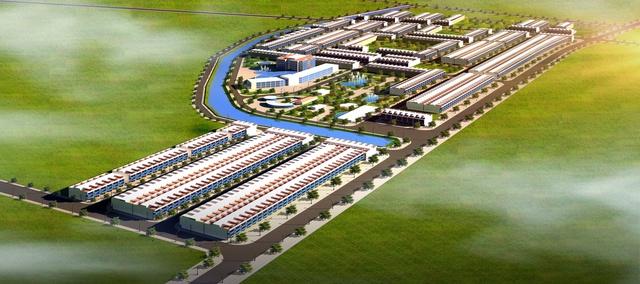 Hình ảnh dự án xây dựng đoạn đường Thống Nhất và hạ tầng kỹ thuật khu dân cư phường Thắng Lợi.