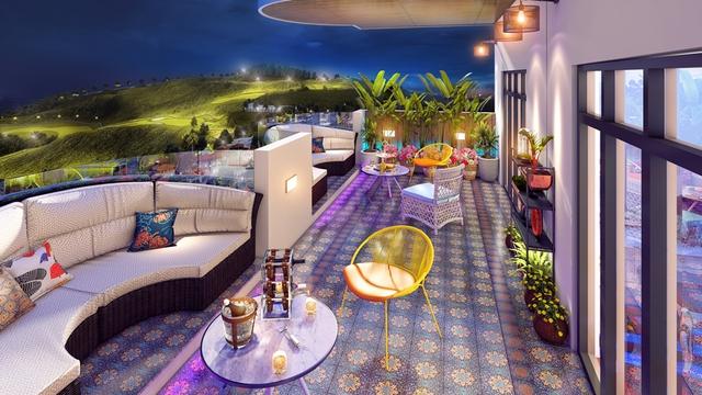 FLC Grand Hotel Halong ra mắt căn hộ ban công sân vườn trên cao ngắm trọn Vịnh Hạ Long - Ảnh 1.