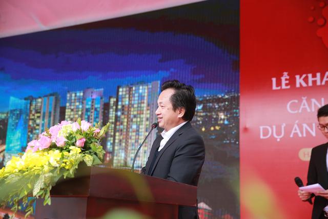Hơn 500 khách hàng tham dự lễ khai trương căn hộ mẫu tại 201 Minh Khai - Ảnh 1.