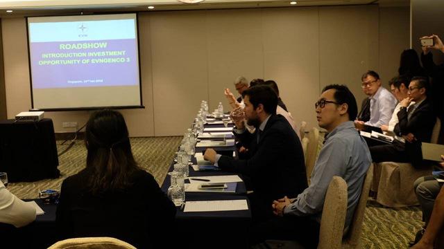 EVN tổ chức roadshow tại Singapore cho các nhà đầu tư chiến lược tiềm năng - Ảnh 2.