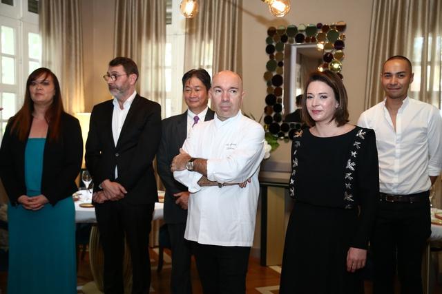 Khai trương nhà hàng Pháp đẳng cấp 3 sao Michelin - Ảnh 1.