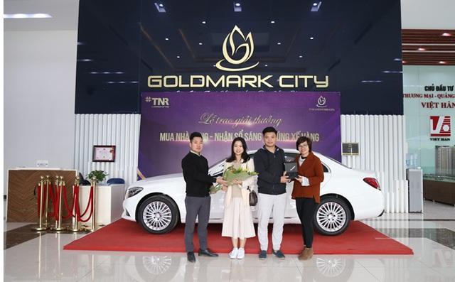 Cư dân TNR Goldmark City háo hức nhận bàn giao nhà mới đón Tết - Ảnh 1.