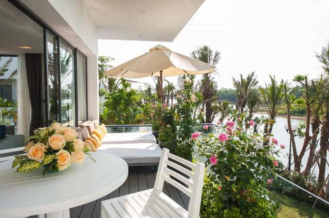 Ấn tượng lễ mở bán Flamingo Luxury Villa - Ảnh 1.