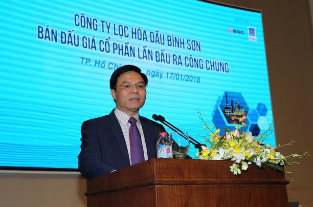 IPO thành công 242 triệu cổ phần Lọc hóa dầu Bình Sơn - Ảnh 1.