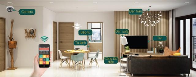 Xuất hiện căn hộ Smart Home ở phân khúc tầm trung tại dự án The Golden An Khánh - Ảnh 1.