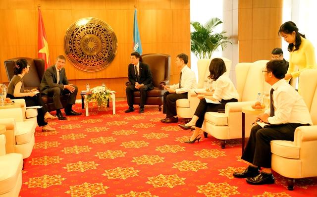 Đại sứ Vương Quốc Anh tại Việt Nam đến thămvà làm việc với PV GAS - Ảnh 2.
