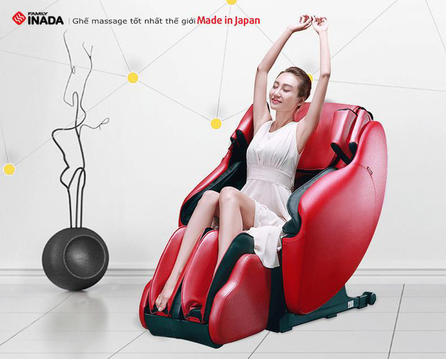 Ghế massage Made in Japan có thật sự là trợ lý sức khỏe tại nhà mà bạn nhất định phải có Tết Mậu Tuất 2018 này? - Ảnh 1.