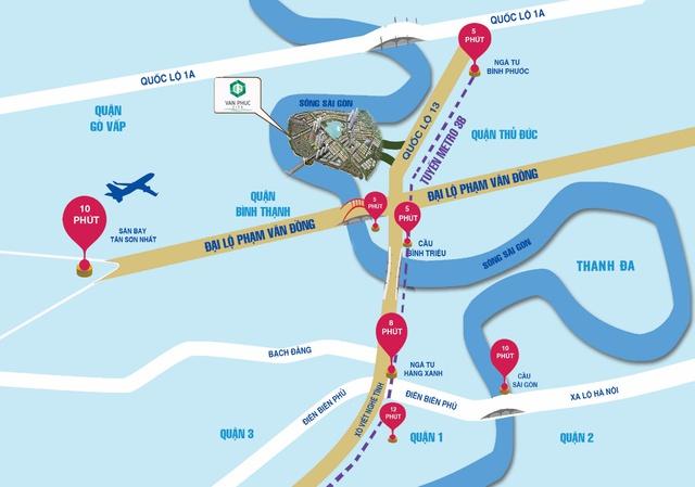 Van Phuc City: điểm đầu tư hấp dẫn thị trường miền Nam - Ảnh 1.