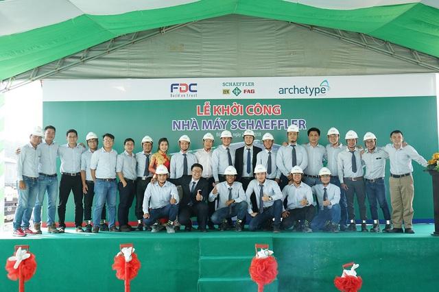 F.D.C khởi công dự án Nhà máy Schaeffler Việt Nam - Ảnh 1.
