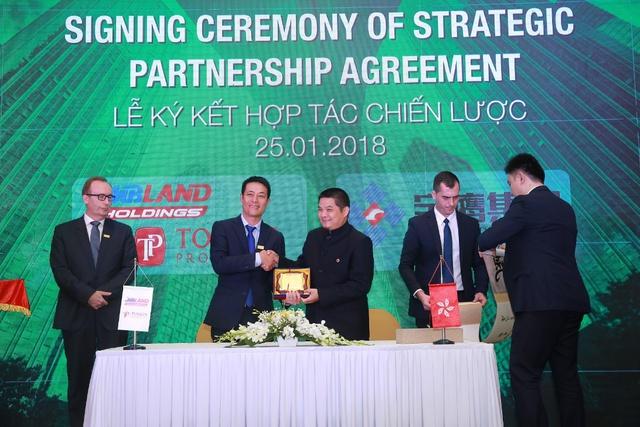 MBLand Holdings ký kết hợp tác chiến lược phát triển Bất động sản - Ảnh 1.