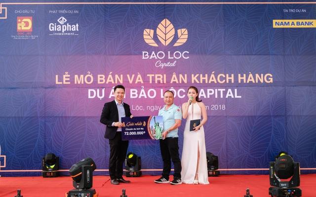 """Hơn 300 khách hàng tham dự """"Lễ mở bán và tri ân"""" dự án Bảo Lộc Capital giai đoạn 3 - Ảnh 1."""