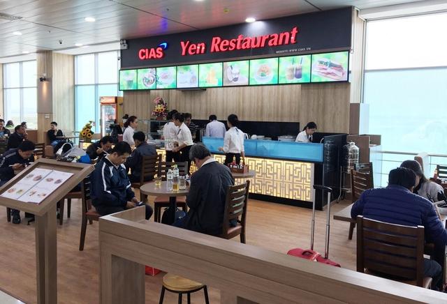 CIA khai trương nhà hàng tại Cảng hàng không Chu Lai - Ảnh 1.
