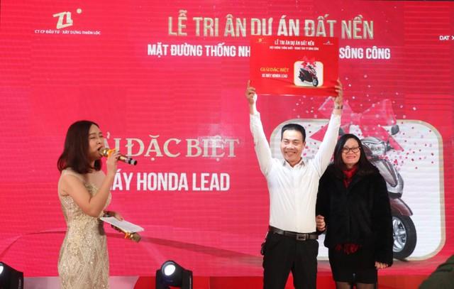 Lễ tri ân dự án đất nền Thiên Lộc Thái Nguyên thu hút hàng trăm khách tham dự - Ảnh 1.