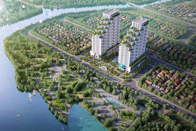Cất nóc căn hộ cao tầng cấp cao 1.000 tỷ ở Quận 7 - Ảnh 1.