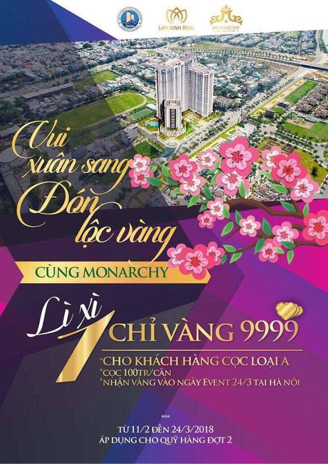Monarchy - căn hộ nghỉ dưỡng có thiết kế cảnh quan toàn cảnh sông Hàn đẹp tại Đà Nẵng - Ảnh 2.