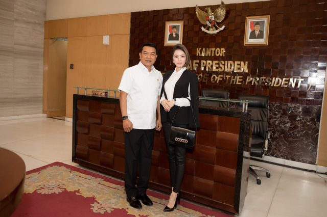 Lý Nhã Kỳ gặp gỡ Chánh Văn phòng Phủ Tổng thống Indonesia - Ảnh 5.