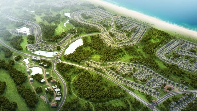 Những bật mí đầu tiên về tổ hợp liên hoàn sân golf 18 hố ven biển tại Quảng Bình - Ảnh 2.