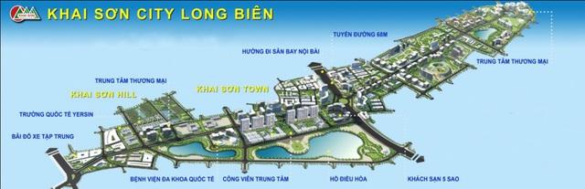 CENLAND phát triển kinh doanh dự án Khai Sơn City - Ảnh 1.