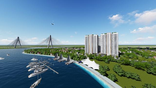 Thị trường địa ốc vùng ven TP.HCM: Ngoài đất nền, thị phần căn hộ cũng hấp dẫn không kém - Ảnh 2.