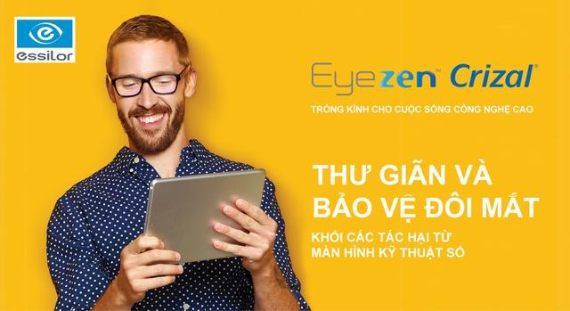 Eyezen Crizal – Giải pháp mới bảo vệ và thư giãn mắt trong thời đại kỹ thuật số - Ảnh 1.