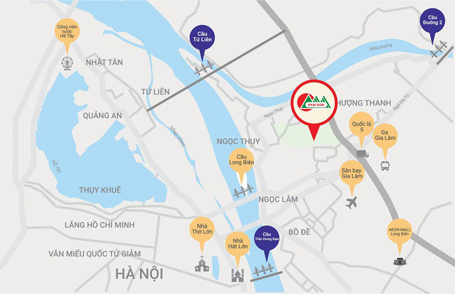 Thêm dự án diện tích bên sông Hồng, giới đầu tư bất động sản chớp thời cơ - Ảnh 1.