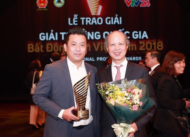 DKRA Việt Nam xuất sắc đạt giải thưởng Quốc gia bất động sản Việt Nam năm 2018 - Ảnh 1.