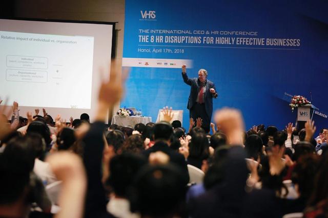 """Hơn 600 lãnh đạo cao cấp tham dự Hội thảo """"8 đột phá nhân sự để kinh doanh thành công"""" - Ảnh 1."""