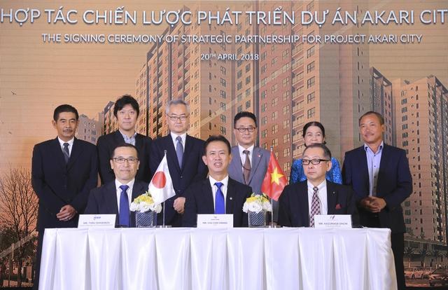 Nam Long (HOSE: NLG) ra mắt hợp tác phát triển dự án Akari City 8,5 hecta - Ảnh 1.