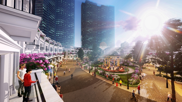Sắp mở phân phối chuỗi nhà phố thương mại hút khách khu vực Tây Hồ Tây - Ảnh 1.