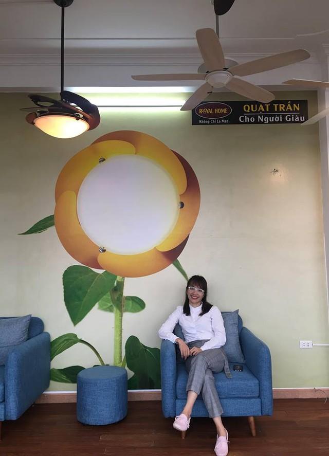 Lê Lan Hương – Bà chủ sáng tạo cho những mẫu quạt trần đẹp - Ảnh 1.