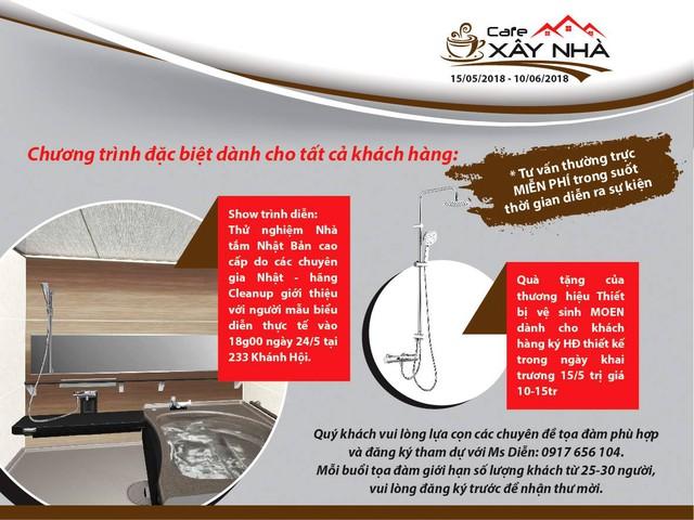 """""""Cà phê xây nhà"""" - sự kiện hữu ích và thiết thực dành cho khách xây nhà - Ảnh 2."""