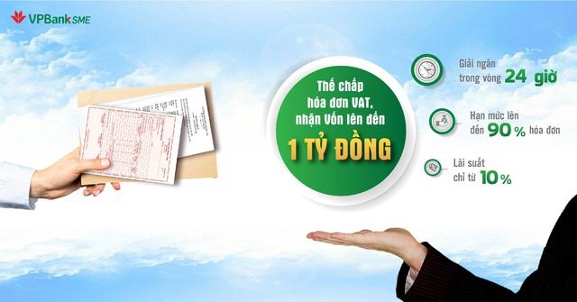 Hóa đơn VAT được dùng để thế chấp vay vốn ngân hàng - Ảnh 1.